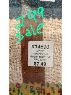 14690 Golden Touch Knit