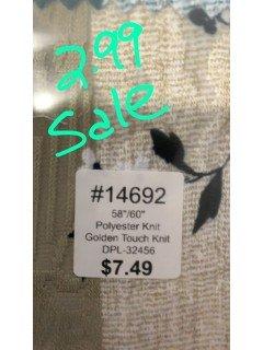 14692 Golden Touch Knit
