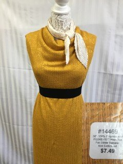 14469 Fall Glitter Sweater Knit Embossed