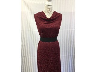 100 Poly Knit Golden Touch Knit Jacquard 07 Winter Red