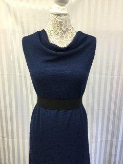 14009 100 Poly Knit Endless Beauty Jacquard Soft Navy 09