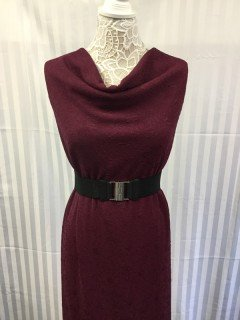 14003 100 Poly Knit Endless Beauty Jacquard Wine Berry 10