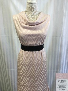 14130 Shimmer Chevron Jacquard Knit