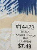 14423 Jaquard Chevron