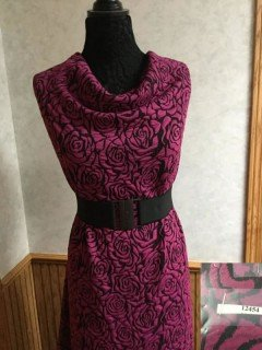 12454 Liverpool Knit - Magenta Rose