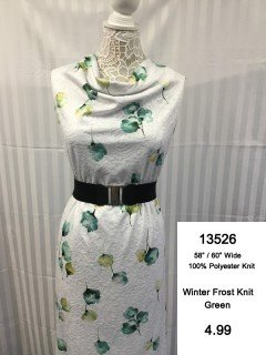 13526 Winter Frost Knit
