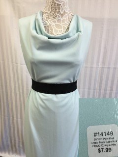 14149 Crepe Back Satin Knit