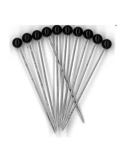 Black Head Pins