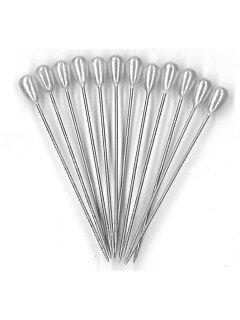 Tear Drop Pearl Head Pins