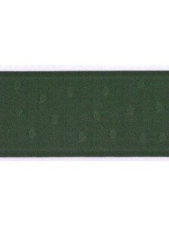 "Ribbon 1.5"" Dot Jacquard Hunter"
