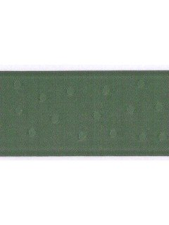 "Ribbon 1.5"" Dot Jacquard Mellow Green"