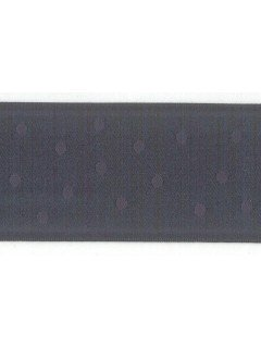 "Ribbon 1.5"" Dot Jacquard Navy"