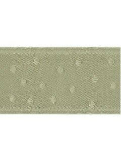"Ribbon 1.5"" Dot Jacquard Sage"