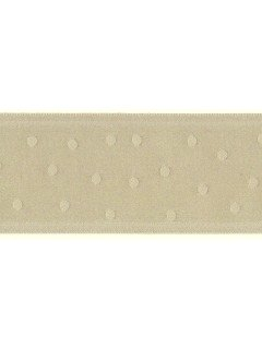 "Ribbon 1.5"" Dot Jacquard Smoke"