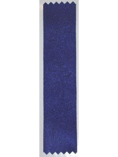 Lily Embossed Ribbon Cobalt