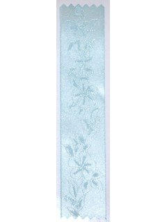 Lily Embossed Ribbon Surf