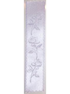 Rose Embossed Ribbon Lavender