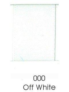 "Ribbon 1.5"" Single Face Satin 000 Off White"