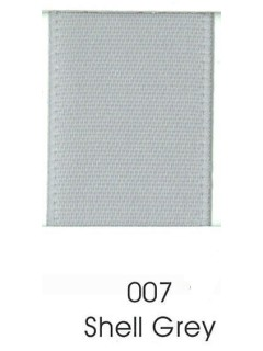 "Ribbon 1.5"" Single Face Satin 007 Shell Grey"