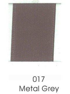 "Ribbon 1.5"" Single Face Satin 017 Metal Grey"