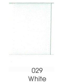 """Ribbon 1.5"""" Single Face Satin 029 White"""