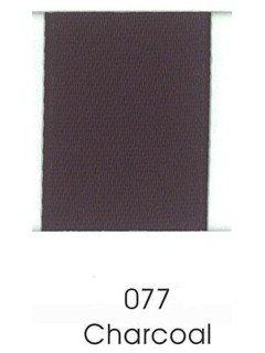 "Ribbon 1.5"" Single Face Satin 077 Charcoal"