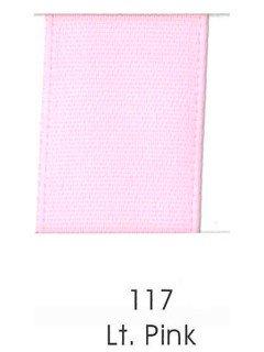 "Ribbon 1.5"" Single Face Satin 117 Light Pink"