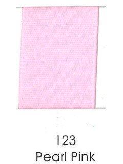 """Ribbon 1.5"""" Single Face Satin 123 Pearl Pink"""