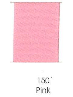"Ribbon 1.5"" Single Face Satin 150 Pink"