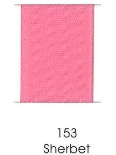 """Ribbon 1.5"""" Single Face Satin 153 Sherbet"""
