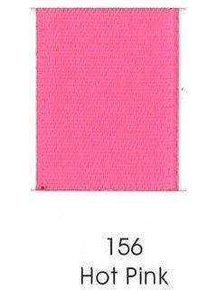 """Ribbon 1.5"""" Single Face Satin 156 Hot Pink"""