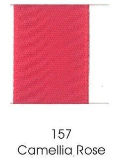 "Ribbon 1.5"" Single Face Satin 157 Camellia Rose"