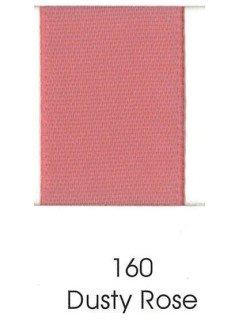 "Ribbon 1.5"" Single Face Satin 160 Dusty Rose"