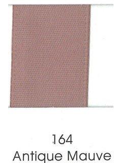 "Ribbon 1.5"" Single Face Satin 164 Antique Mauve"