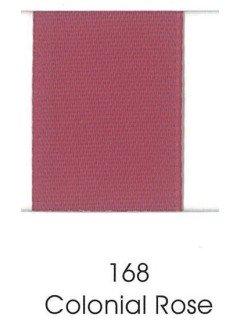 "Ribbon 1.5"" Single Face Satin 168 Colonial Rose"