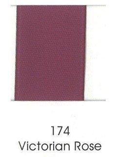 "Ribbon 1.5"" Single Face Satin 174 Victorian Rose"