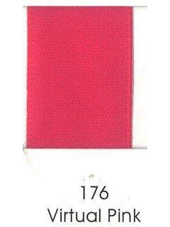 "Ribbon 1.5"" Single Face Satin 176 Virtual Pink"