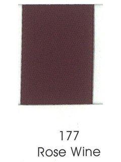 """Ribbon 1.5"""" Single Face Satin 177 Rose Wine"""