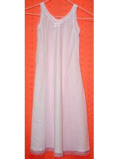 GIRLS SIZES Straight full length Slip Style I