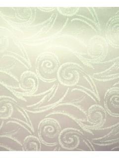 Swirl Tablecloth Fabric-Cream