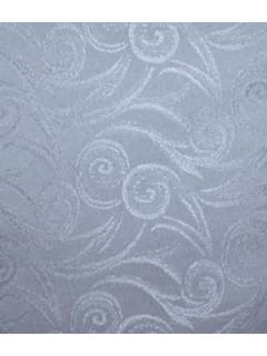 Swirl Tablecloth Fabric-Dusty Blue