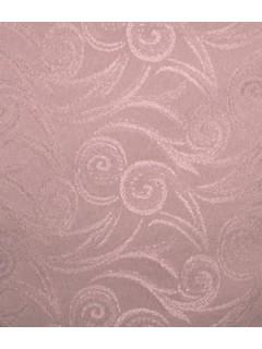 Swirl Tablecloth Fabric-Rose