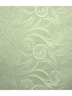 Swirl Tablecloth Fabric-Sage