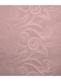Swirl Tablecloth Fabric-Rose