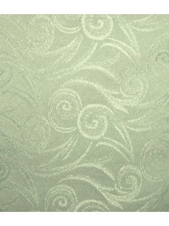 Swirl Tablecloth Fabric-Sage